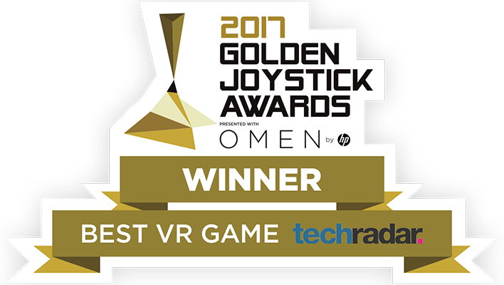 Golden Joysticks Award - Best VR game
