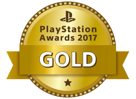 PlayStation Awars 2017 GOLD
